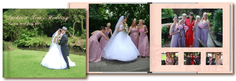 Personalised Wedding Photobooks