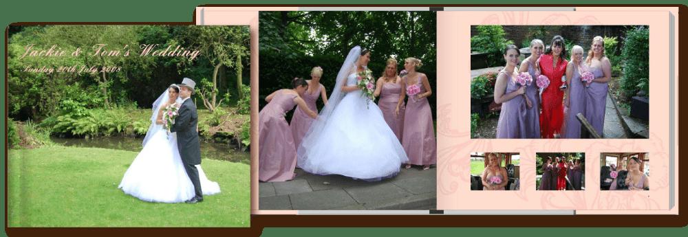 Personalised Wedding Photobooks
