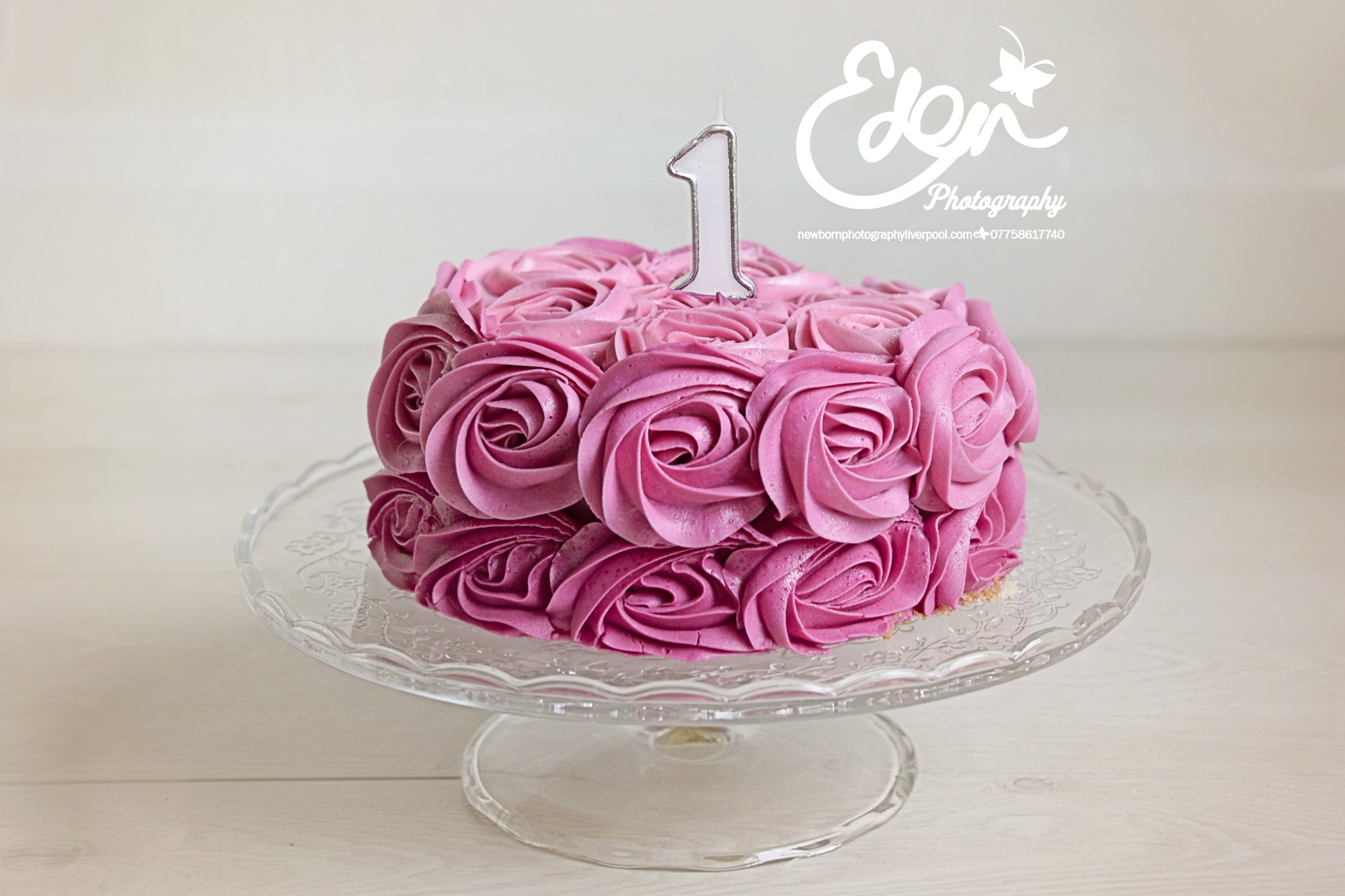 1st Birthday Cake Smash Photographs