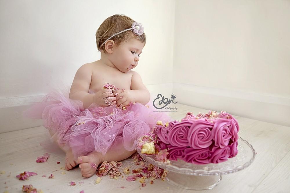 Cake Smash Photography Eden Baby Photography