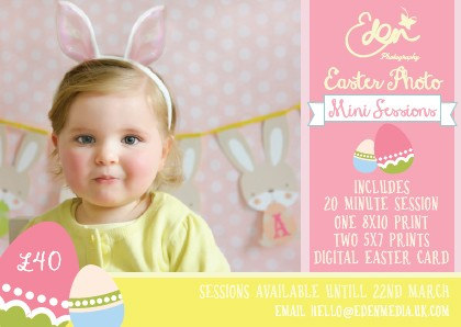 Easter Photography Offer