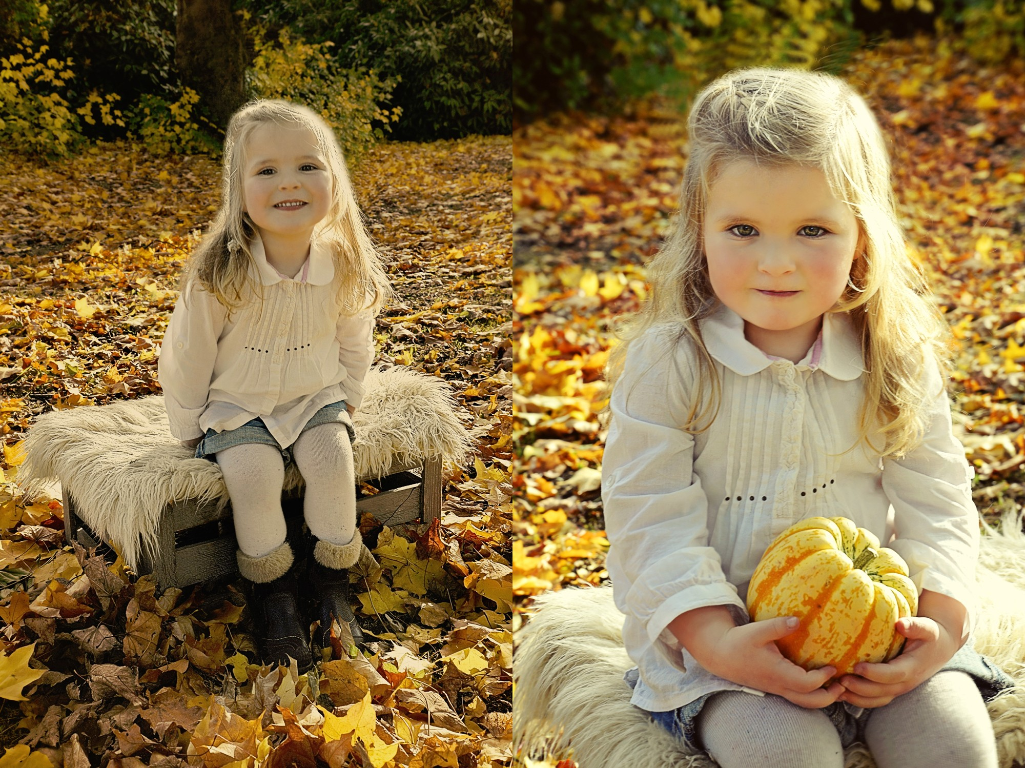 Autumn Toddler Photography