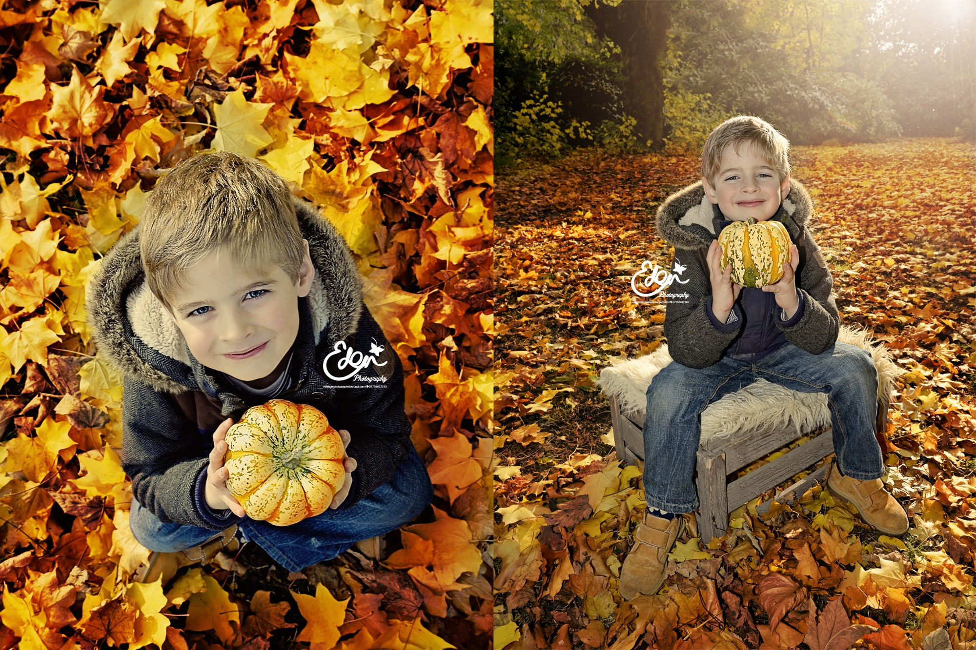 Children's Autumn Photography