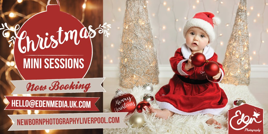 Christmas Baby Photography Liverpool
