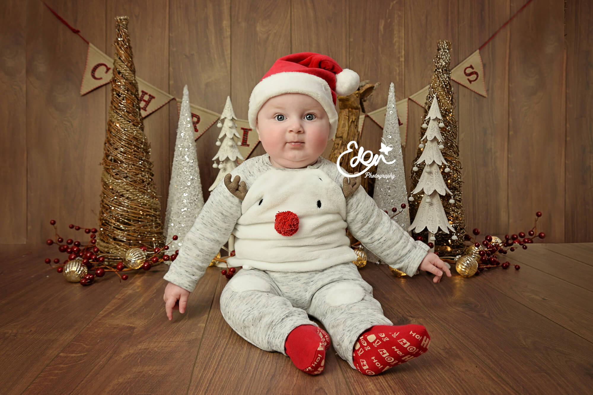 Babys Christmas Photoshoots in Liverpool