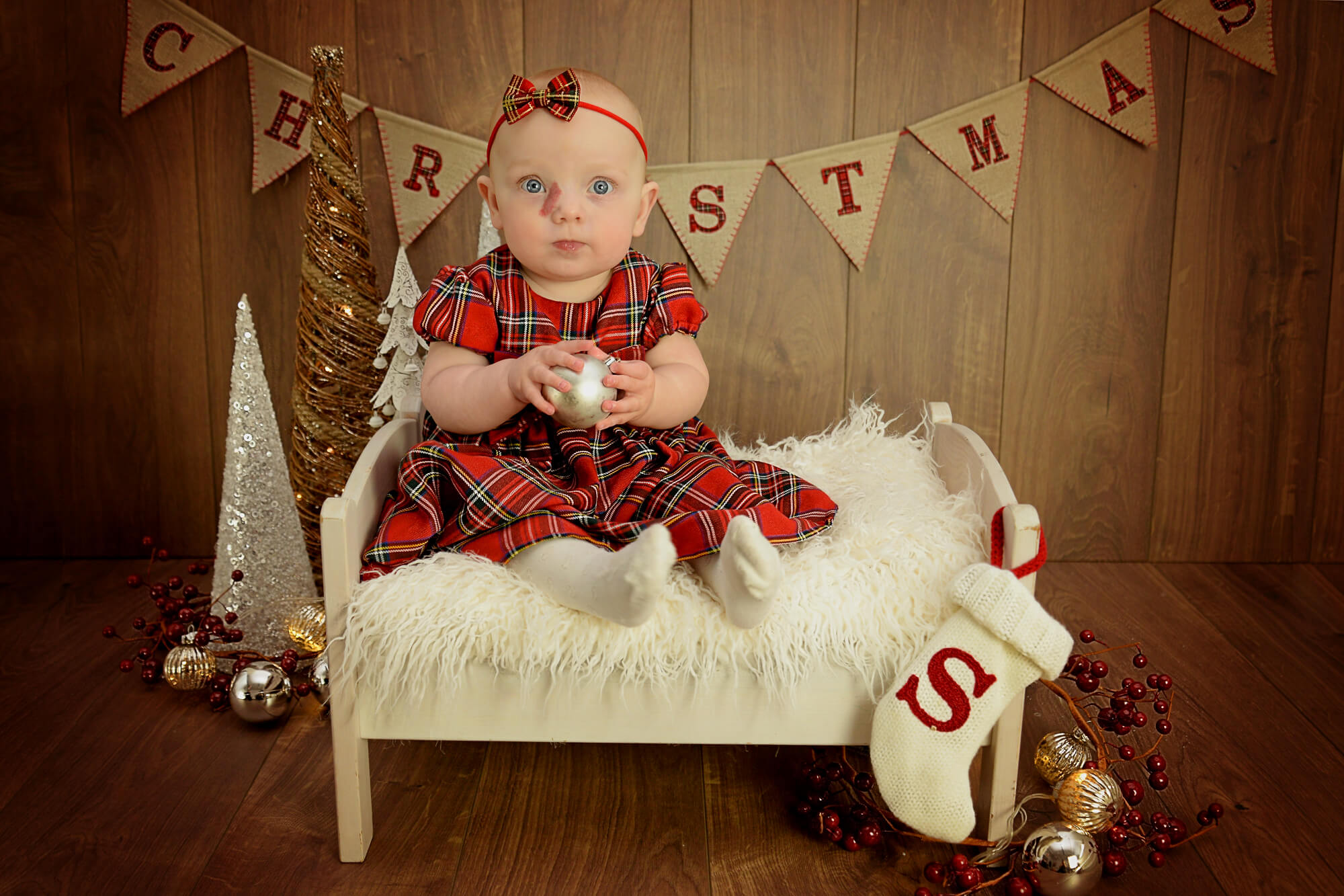 Baby Christmas Photoshoots in Liverpool