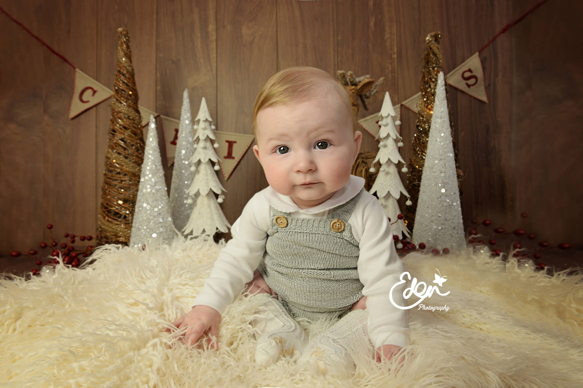 Baby's Christmas Photoshoot in Liverpool