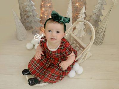 Christmas Baby Photography Liverpool
