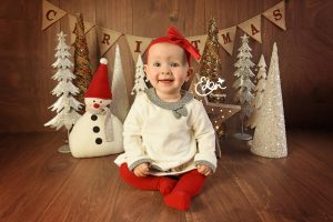 Baby Christmas Photography Liverpool - Eden Media