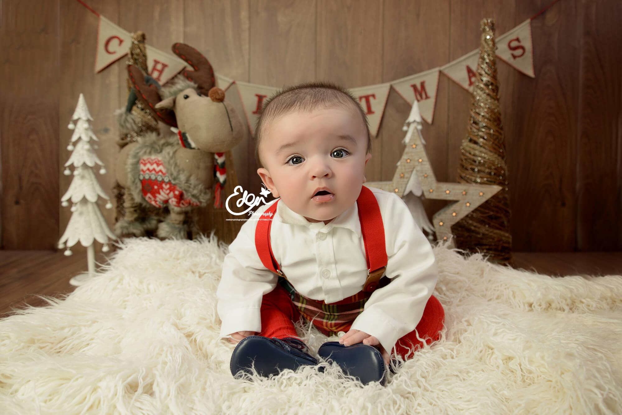 Christmas Baby Photographer Liverpool