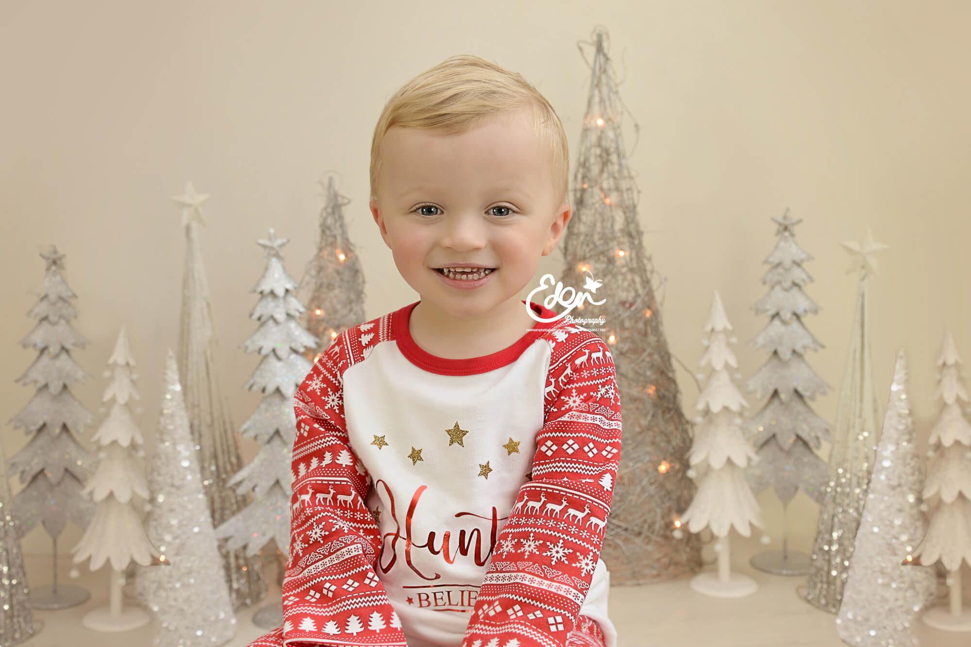 Christmas Baby Photographer Liverpool by Eden Media