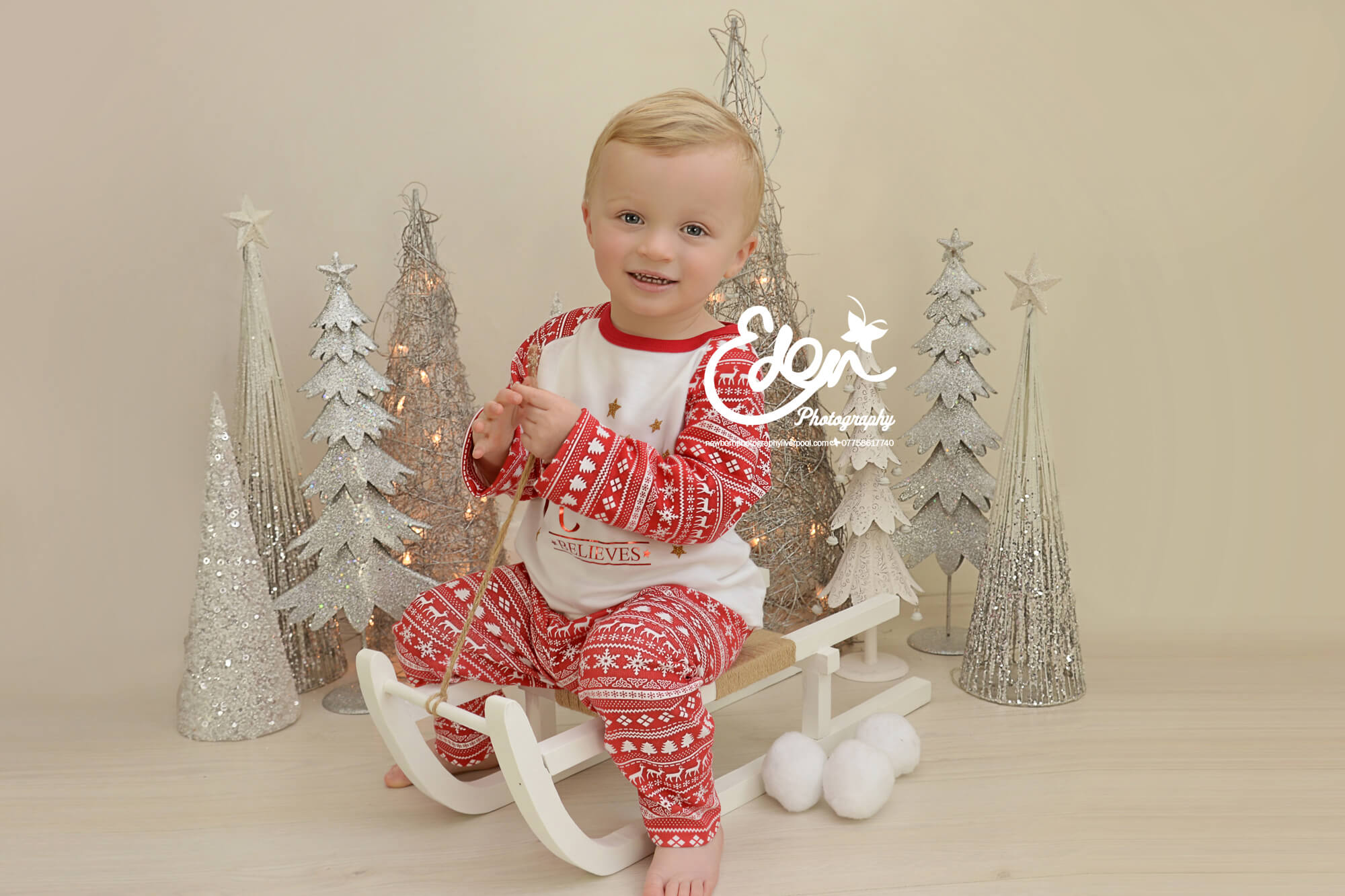 Christmas Baby Photography Liverpool by Eden Media